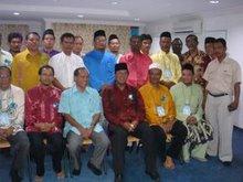 Bersama Menteri Besar Selangor 2008