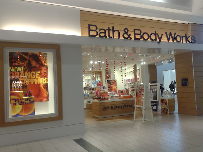 *.*Loja Bath e Body Works no Canada*.*