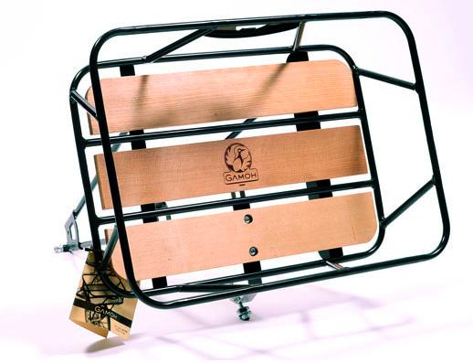 Minoura Gamoh King Carrier Front Basket Large Black