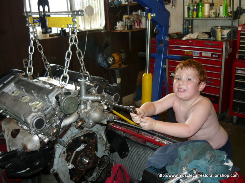 Vr4 Engine Rebuild Engine Rebuild Completed And