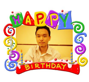 Abang, Happy 24th Birthday...