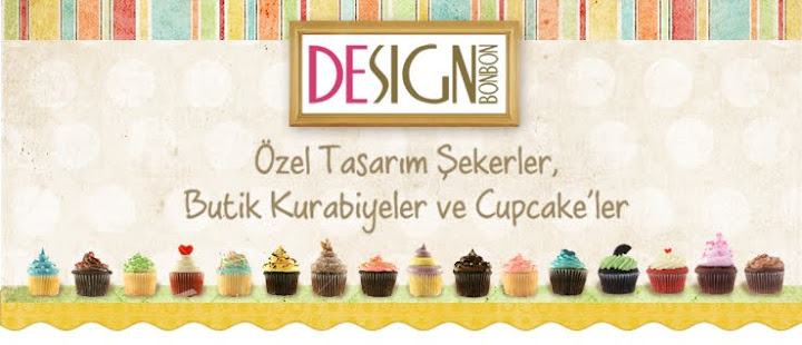 Design Bonbon Butik Kurabiye Şeker Cupcake