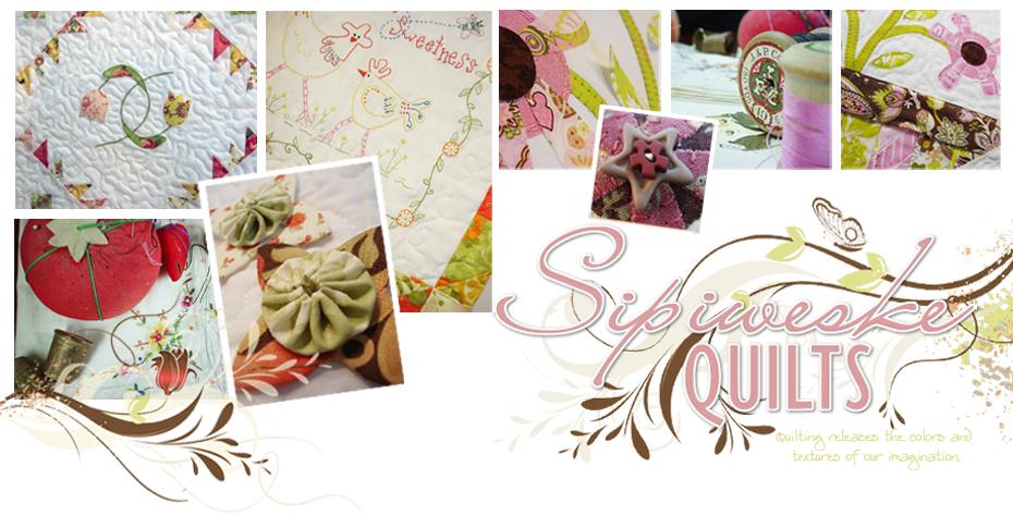 Sipiweske Quilt Designs
