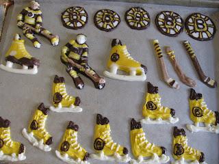 Bruins Cake Decorations