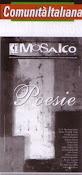 Revista Comunità Italiana. Suplemento: Mosaico. Poesie.