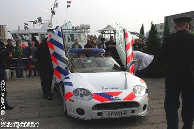 Netherlands Police Car