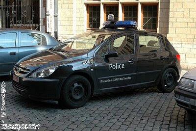 Belgium Police Car