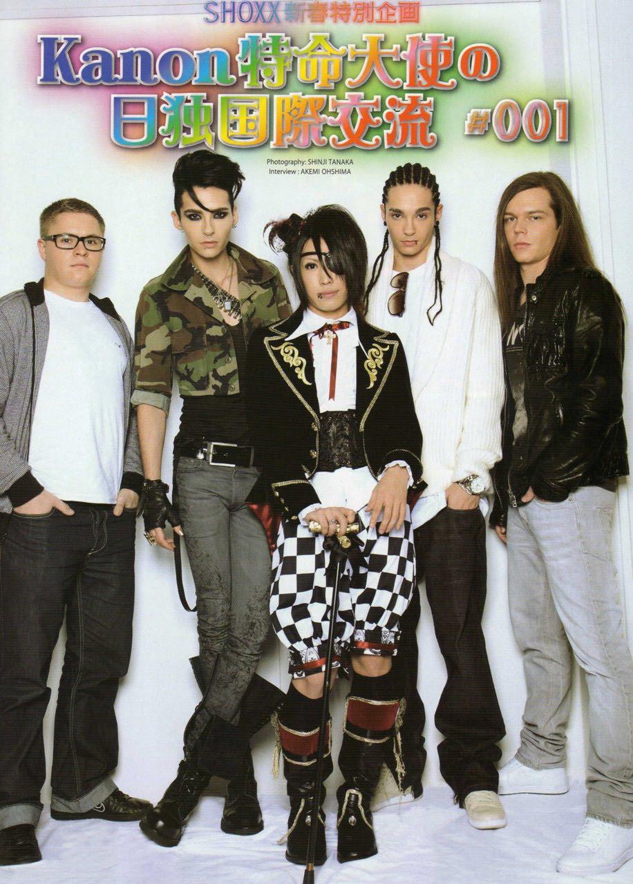 Kanon entrevista a Tokio Hotel (SHOXX Vol. 217) 1