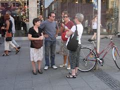 Standing in Marienplatz