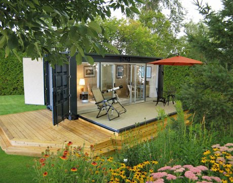 Eco mini homes for Eco efficient homes