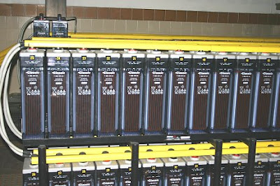 Baterías de unos 400 Ah