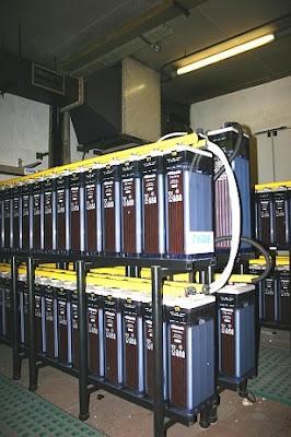 Baterías y sistemas de ventilación