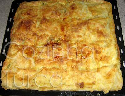Borek de Feta e Espinafres (Peynirli ve Ispanaklı Börek)