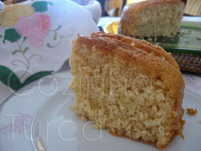 Bolo Seco (Yağsız Kek)
