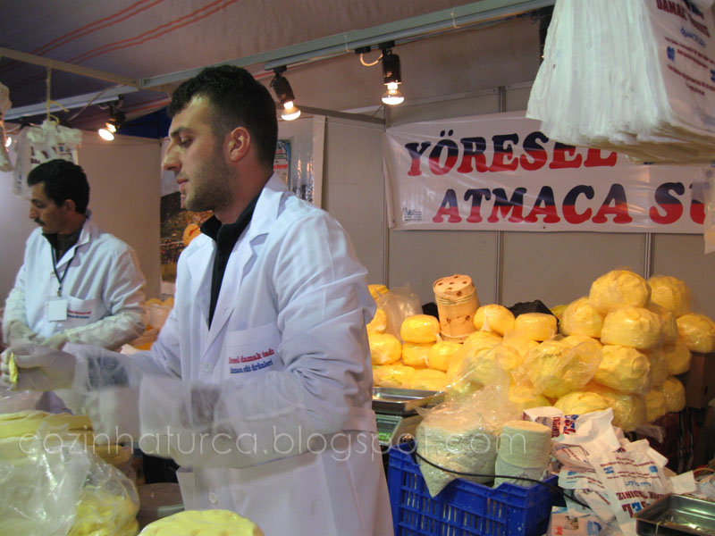 Trabzon Etkinlikleri I: Queijos e manteiga de Trabzon