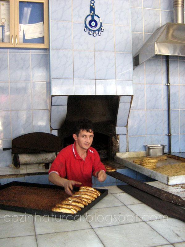 Uma Padaria em Eskişehir