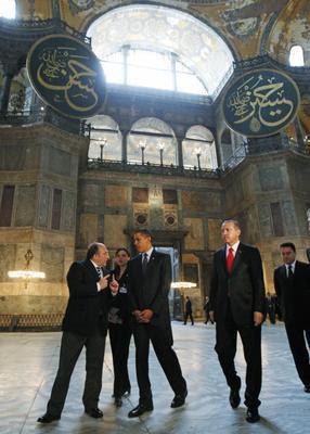 Obama em Santa Sofia