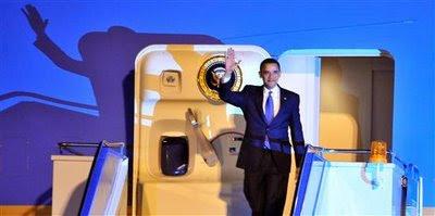 Chegada de Obama a Ancara