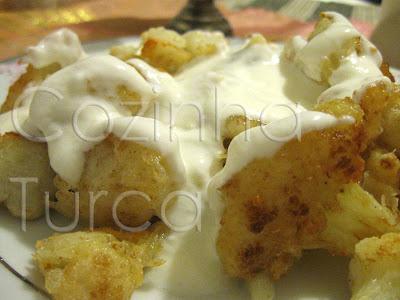 Fritos de Couve-Flor (Karnıbahar Tava)
