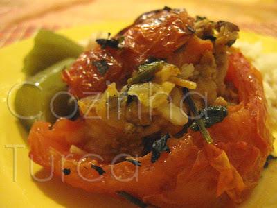 Tomates Recheados (Domates Dolması)