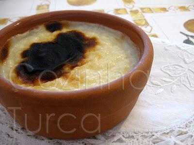 Arroz Doce no Forno (Fırın Sütlaç)(Fırın Sütlaç)