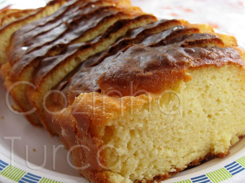 Pão de Milho com Limão (Mısır Ekmeği)