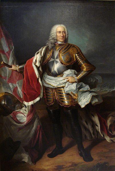 Frei Dom Manuel Pinto da Fonseca, 68 Grão-mestre da Ordem de Malta