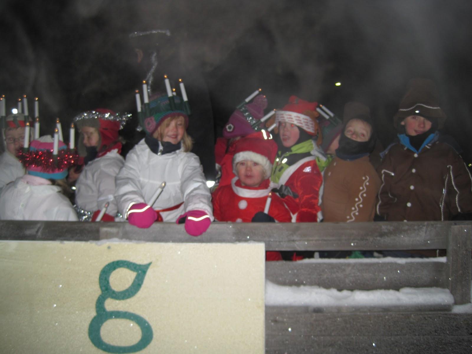 Fagottens förskola: december 2010