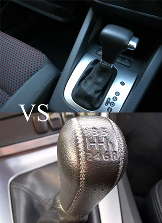AUTO COLLECTION Automatic Transmission vs Manual Transmission