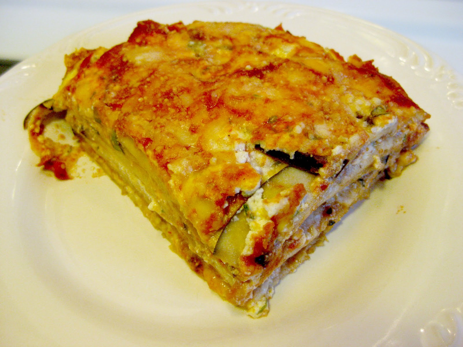 Eggplant Lasagna with Tortilla