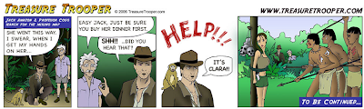 Treasure Trooper Comic Image