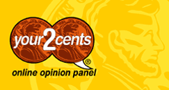 Your2Cents Logo Image - Free Surveys For Cash
