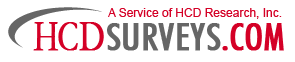 HCDSurveys Logo Image - Free Surveys For Cash