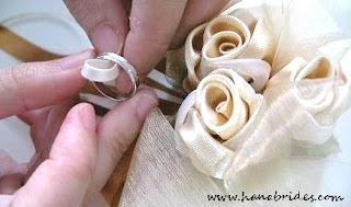 Step 2: Place the ring into the loop & Hanabrides - Singapore Wedding Ring Pillow Magnet Favors Gift ... pillowsntoast.com