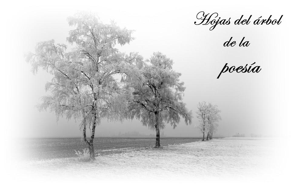 Hojas del árbol de la poesía