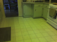 creepy old linoleum floor