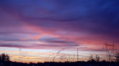 Cotober sunrise in Upstate NY