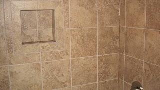 custom tile niche