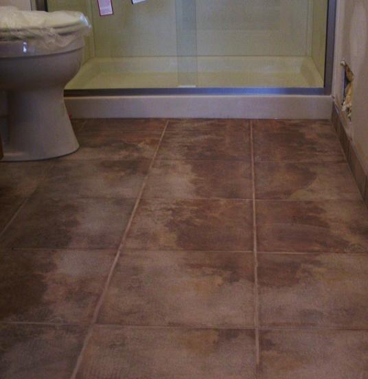 Bathroom Floor Underlayment For Tile : Kitchens baths by d zyne bathroom floor tile adventures