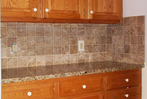 Kitchens & Baths by D'Zyne: DIY Kitchen Tile Backsplash: Good idea ...