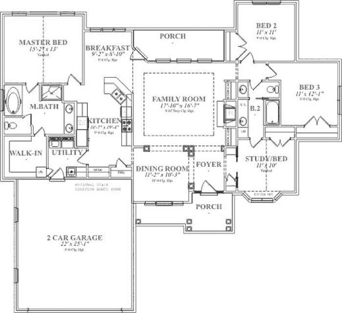 Dibujo tecnico planos de casas imagui for Plano de planta dibujo tecnico