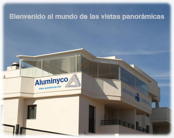 Aluminyco mundo cristal for Acristalamiento de porches