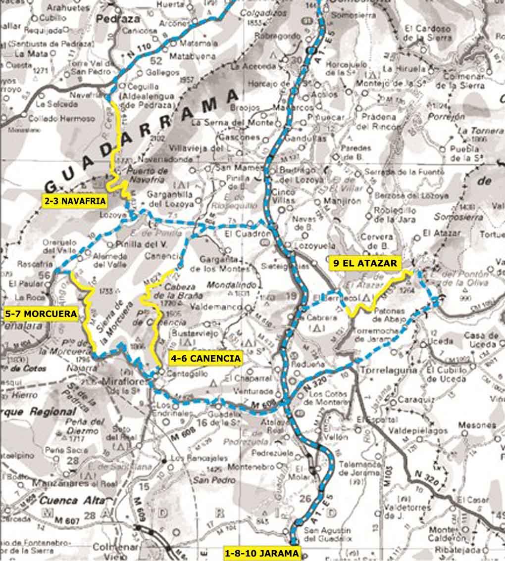 carreteras comunidad madrid: