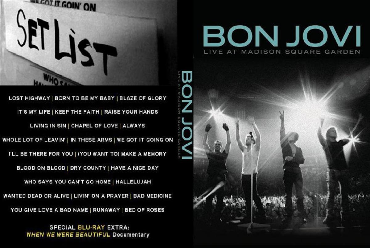 Bon Jovi Madison Square Garden Audio Exelente Calidad