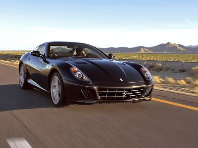 Ferrari 599 Black