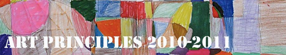 art principles 2010-2011