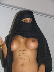 Arab Chick With AK 47 Stripping Out Of Her Burka And Showing Her Boobs Www
