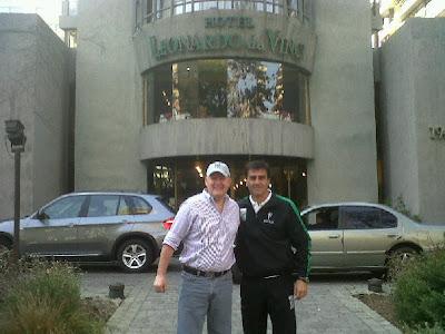 Carlos Ribera y Gustavo Quinteros