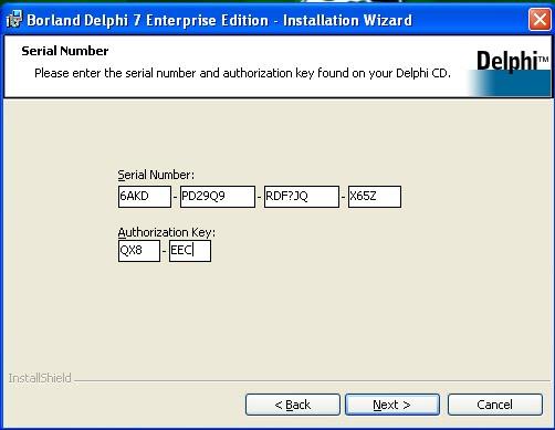 Ключ для Delphi, часть 5 - программа для регистрации почтовых ящиков, делфи не работ