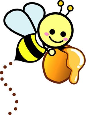 gambar lebah kartun